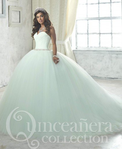 f8a93ec1608 Debutante long Quinceanera dress Collection 26844 · Add to my desires  Loading