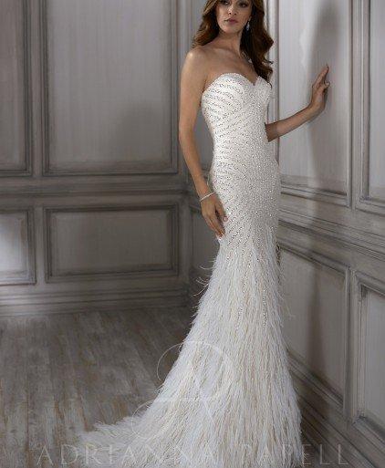 4fbc16354e Adrianna Papell Platinum adelia wedding dress · Add to my desires Loading