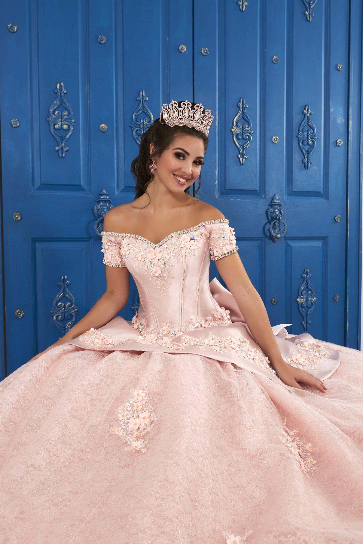 fb8904ee Vestido de Debutante Longo La Glitter 24048 - Moda Mundo